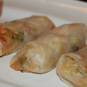 Shrimp and Crab Spring Rolls