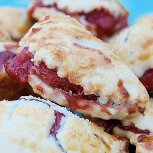 Strawberry Rhurbab Hand Pies