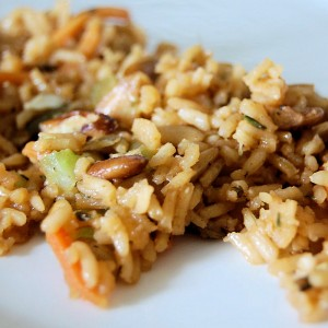 Pecan Rice, Pilaf with Spice