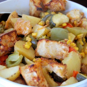 Roasted Panzanella Salad- My Way