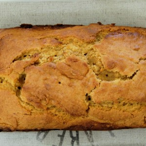 Spiced Pumpkin and Banana Bread