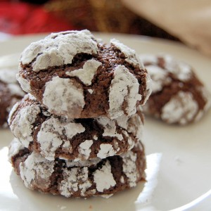 Christmas Cookies Day 3- Giant Espresso Crinkles