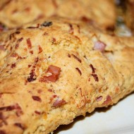 Ham, Cheese and Chipotle Scones