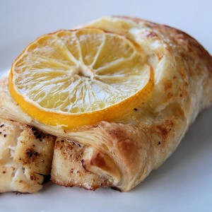 Saucy Mama Tarragon and Lemon Fish en Croute- Skinny Mommy Contest