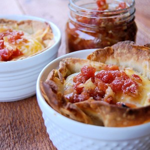 Baked Huevos Rancheros with Spicy Tomato Sauce Southern Child's ...