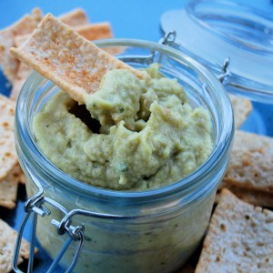 Things are Changing & Roasted Avocado and Sesame Oil Hummus (Gluten Free)