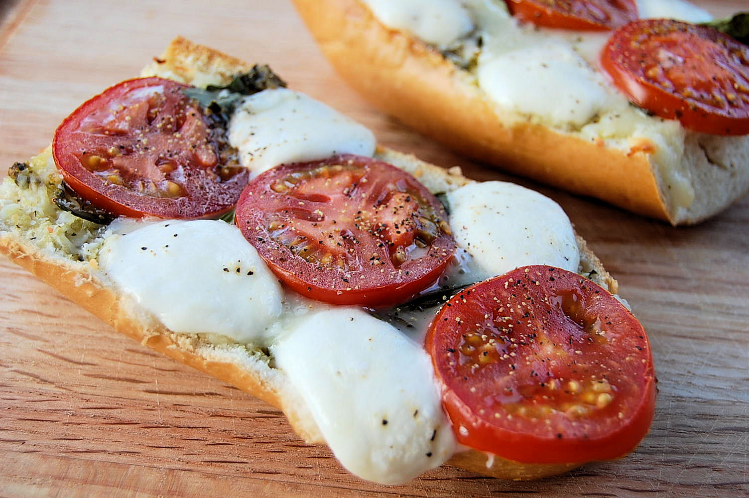 caprese-open-face-sandwich