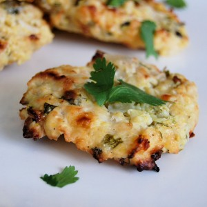 Baked Zucchini Pub Fritters