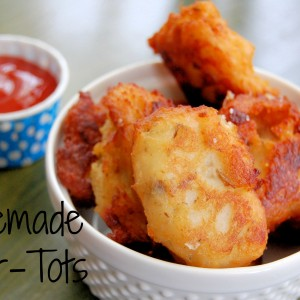 Homemade Tater-Tots (yes you can do it)