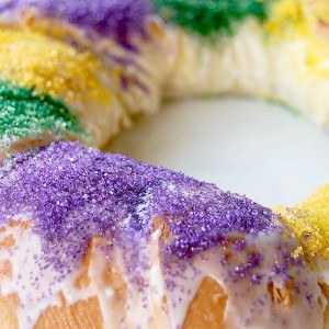 Mardi Gras Kings Cake