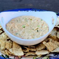 SuperBowl Inspired Cajun Shrimp Dip