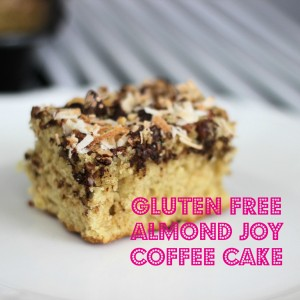 Gluten Free Almond Joy Coffee Cake