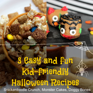 3 Easy Kid-Friendly Halloween Recipes