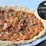 Crawfish Pie with Gluten Free Buttery Flaky Crust