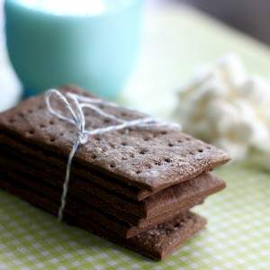 Chocolate Chai Gluten Free Graham Crackers