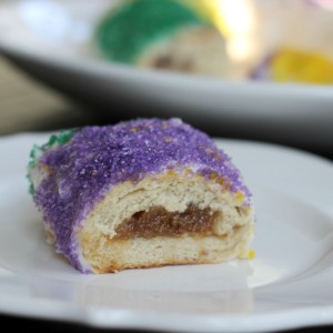 Pecan Pie Stuffed King Cake + Boudin King Cake