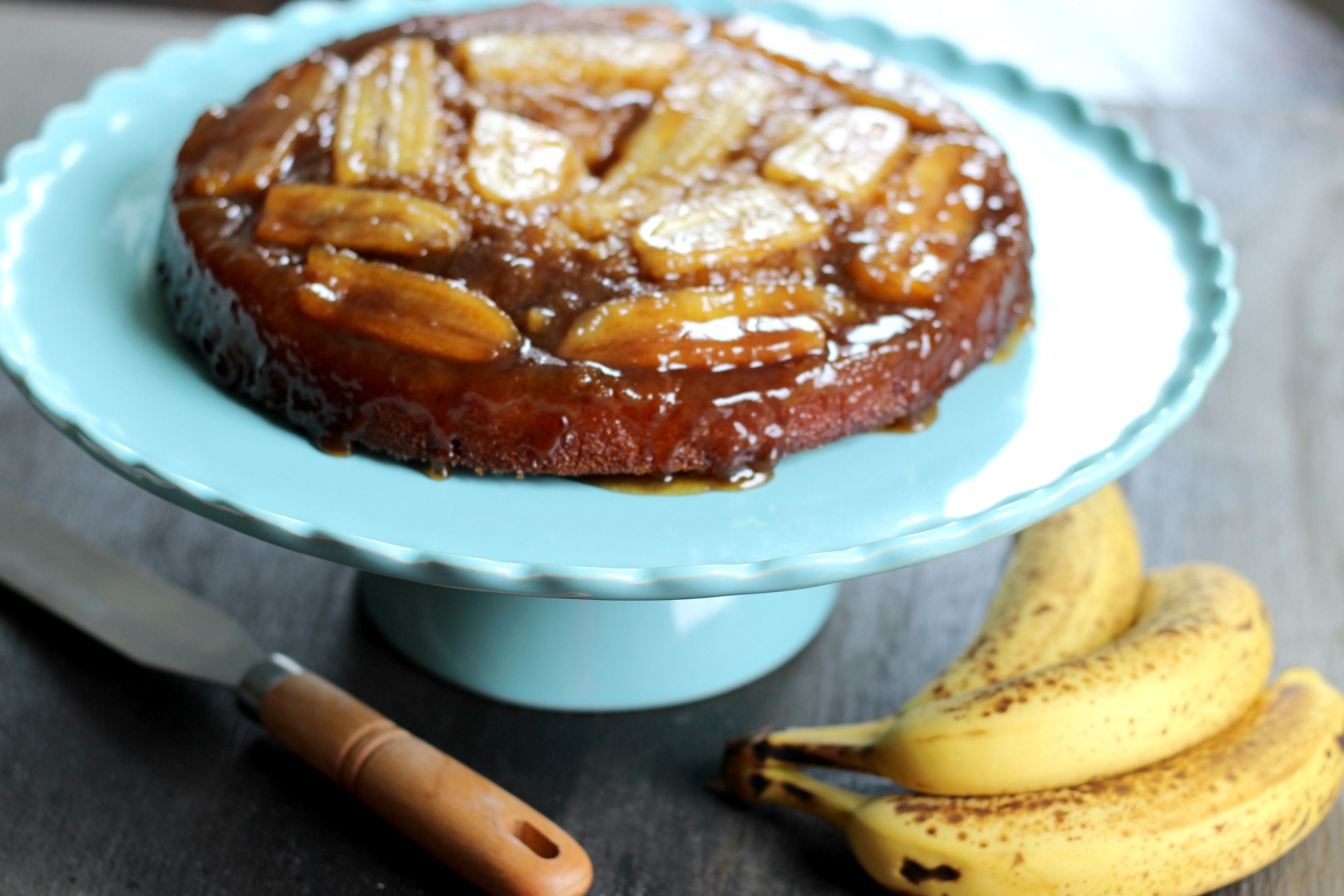 Banana\'s Foster Upside Down Cake – Kitchen Belleicious
