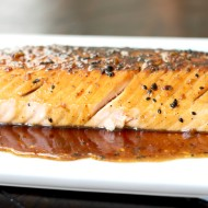 Honey Butter Glazed Salmon