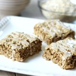Cinnamon Brown Sugar Oatmeal Squares